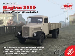 ICM35452 Magirus S330 German Truck (1949 production) (100% new moulds)